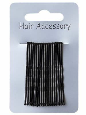Set of 20 Traditional Kirby Hair Grips Slides 4.5cm